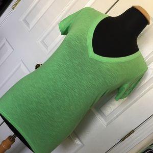 Victoria Secret PINK Lime Green Sleep Shirt